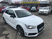 2012 AUDI A1 2.0 TDI BLACK EDITION 3d 143 BHP IN PEARLECENT WHITE WITH ONLY 70,000 MILES £8999.00