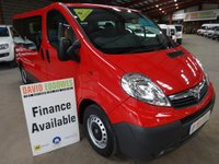 USED 2013 63 VAUXHALL VIVARO 2.0 COMBI CDTI 5d BHP 9 SEAT MINI BUS '' YOU'RE IN SAFE HANDS  ''  WITH THE AA DEALER PROMISE