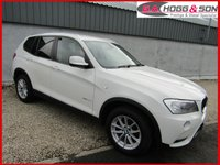 2012 BMW X3 2.0 XDRIVE 20D SE 5dr AUTO 181 BHP  **NICE EXAMPLE** £13595.00