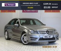 USED 2012 12 MERCEDES-BENZ C CLASS 2.1 C250 CDI BLUEEFFICIENCY SPORT 4d AUTO 202 BHP
