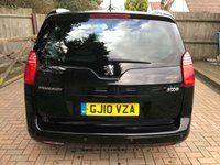 USED 2010 10 PEUGEOT 5008 1.6 HDI EXCLUSIVE 5d 110 BHP ONE LADY OWNER + PEUGEOT HISTORY + 7 SEATER + HEADS UP DISPLAY