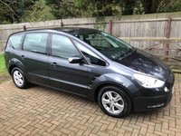 USED 2008 08 FORD S-MAX 1.8 ZETEC TDCI 5SPD 5d 125 BHP TWO OWNERS + LOTS OF SERVICE HISTORY