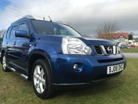 2008 NISSAN X-TRAIL 2.0 ARCTIX EXPEDITION DCI  4x4 AUTO top spec full Nissan service history  £7995.00