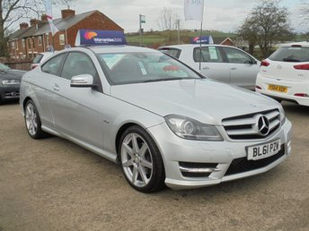 2012 MERCEDES-BENZ C CLASS 2.1 C220 CDI BLUEEFFICIENCY AMG SPORT 2d AUTO 170 BHP *1 OWNER* STUNNING* £10950.00