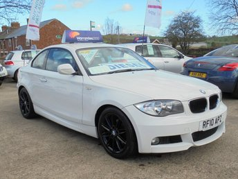 2010 BMW 1 SERIES 2.0 118D M SPORT 2d 141 BHP *STUNNING IN ALPINE WHITE* £6450.00