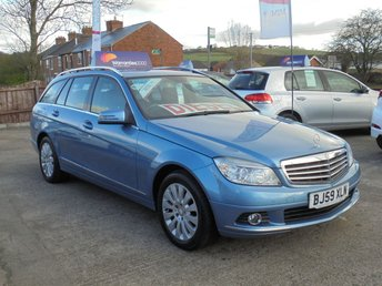 2009 MERCEDES-BENZ C CLASS 2.1 C200 CDI ELEGANCE 5d AUTO 135 BHP * STUNNING THROUGHOUT* £6450.00