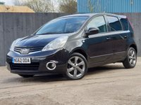 2013 NISSAN NOTE 1.4 N-TEC PLUS 5d 88 BHP £4800.00