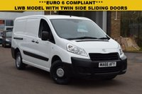USED 2016 66 PEUGEOT EXPERT 1.6 HDI 1200 L2H1 1d 90 BHP EURO 6 COMPLIANT 2016 Peugeot Expert LWB with twin side sliding doors and 3 seats.