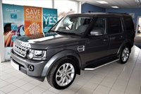 USED 2015 65 LAND ROVER DISCOVERY 4 3.0 SDV6 HSE 5d AUTO 255 BHP COMMAND SHIFT STOP/START LOW ROAD TAX