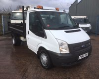 USED 2012 62 FORD TRANSIT T350 2.2 TDCI (100 BHP) STEEL BODIED 3 WAY TIPPER