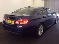 USED 2015 65 BMW 5 SERIES 2.0 520D M SPORT 4d AUTO 188 BHP SHARK FIN ROOF AERIAL