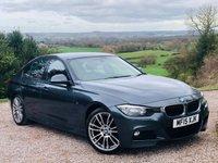 2015 BMW 3 SERIES 3.0 330D M SPORT 4d AUTO 255 BHP £15985.00