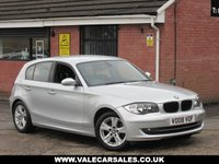 USED 2008 08 BMW 1 SERIES 116I SE (£1,070 OF EXTRAS) 5dr GREAT SPEC WITH OVER £1,000 OF OPTIONAL EXTRAS