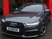 2015 AUDI A6 SALOON 3.0 TDI BLACK EDITION 4d AUTO 215 S/S £17982.00