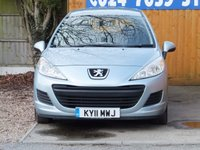 USED 2011 11 PEUGEOT 207 1.6 HDI SW S 5d 92 BHP FSH. AIR CON, CD