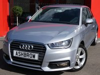 USED 2016 16 AUDI A1 1.6 TDI SPORT 3d 115 S/S £960 OF OPTIONAL EXTRAS, UPGRADE SAT NAV, DAB RADIO, BLUETOOTH PHONE & MUSIC STREAMING, AUDI DRIVE SELECT, AUDI MUSIC INTERFACE (AMI), MANUAL 5 SPEED GEARBOX, START STOP TECHNOLOGY, FRONT FOG LIGHTS, 16 INCH 5 SPOKE ALLOYS, GREY TORNADO CLOTH INTERIOR, SPORT SEATS, LEATHER MULTIFUNCTION STEERING WHEEL, AIR CONDITIONING, CD & SD CARD READER, TYRE PRESSURE MONITORING SYSTEM, ELECTRIC WINDOWS, ELECTRIC HEATED DOOR MIRRORS, ISO FIX, FOLDING REAR SEATS. 1 OWNER FROM NEW, SERVICE HISTORY, £0 ROAD TAX