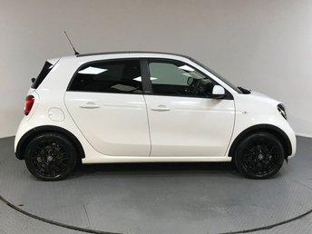 2016 SMART FORFOUR 1.0 EDITION WHITE 5d AUTO 71 BHP £8200.00
