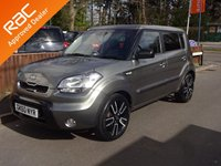 USED 2010 60 KIA SOUL 1.6 TEMPEST CRDI 5dr, AUTOMATIC YES ONLY 76,000 MILES FROM NEW, 12 MONTHS MOT