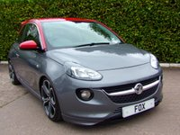2016 VAUXHALL ADAM 1.4 GRAND SLAM S/S 3d 148 BHP £7975.00