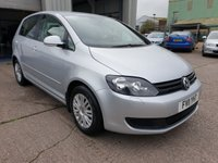 2011 VOLKSWAGEN GOLF PLUS 1.6 S TDI 5d 103 BHP £4995.00