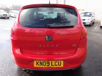 USED 2009 09 SEAT ALTEA 2.0 FR TDI 5d 168 BHP 3 Months National Warranty - 1 Years MOT for New Owner
