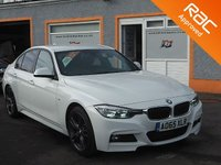 USED 2015 65 BMW 3 SERIES 2.0 320D M SPORT 4d 188 BHP Black Leather Seats, Front and Rear PDC, Rear privacy Glass, Colour Sat Nav, Absolutely Stunning.......