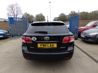 USED 2011 11 TOYOTA AVENSIS 2.0 TR D-4D 5d 125 BHP NEW MOT, SERVICE & WARRANTY