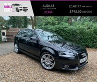 USED 2010 10 AUDI A3 1.8 TFSI S LINE 5d 158 BHP 1 OWNER LOW MILES FULL SERVICE HALF LEATHER RARE CAR STUNNING
