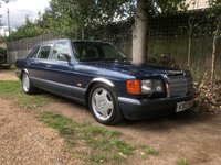 1992 MERCEDES-BENZ S CLASS 5.0 500 SEL 4d AUTO, AMG ALLOYS, LOWERED,LOOKS GREAT,FSH £4495.00