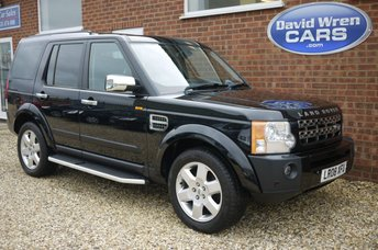 2008 LAND ROVER DISCOVERY 2.7 3 TDV6 HSE 5d AUTO 188 BHP £10495.00