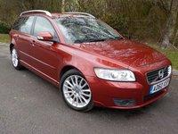 2010 VOLVO V50 1.6 D DRIVE SE LUX 5d 109 BHP £SOLD