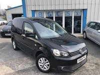USED 2014 64 VOLKSWAGEN CADDY 1.6 C20 TDI BMT HIGHLINE 1d AUTO 101 BHP