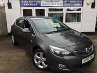 USED 2010 10 VAUXHALL ASTRA 1.4 SRI 5d 138 BHP 103K 2LOCAL OWNERS 17'ALLOYS 6SPD CRUISE VOICE PHONE £140/YR TAX
