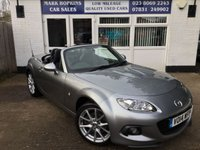 2014 MAZDA MX-5 2.0 I ROADSTER SPORT TECH 2d 158 BHP £11995.00