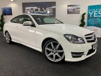 USED 2014 63 MERCEDES-BENZ C CLASS 2.1 C250 CDI AMG SPORT EDITION PREMIUM 2d AUTO 202 BHP F/S/H, GREAT SPEC, IMMACULATE!