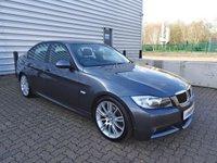 2007 BMW 3 SERIES 2.0 320D M SPORT 4d AUTO 161 BHP £4190.00
