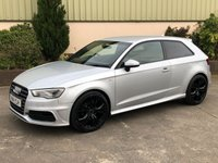 USED 2014 14 AUDI A3 2.0 TDI S LINE 3d 148 BHP S LINE - FULL LEATHER, SAT NAV, BEAUTIFUL INSIDE AND OUT