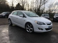 2012 VAUXHALL ASTRA 2.0 CDTI SRI S/S 5d  WITH UPGRADED ALLOY WHEELS  £5000.00