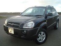 2006 HYUNDAI TUCSON 2.0 CDX CRTD 4WD 5d 138 BHP £1495.00