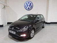 USED 2015 65 VOLKSWAGEN POLO 1.2 SE TSI 3d 89 BHP 1 Owner / Satellite Navigation /