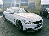 2015 BMW 4 SERIES 2.0 420D M SPORT GRAN COUPE 4d AUTO 181 BHP £20995.00