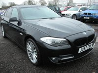 USED 2010 57 BMW 5 SERIES 2.0 520D SE 4d AUTO 181 BHP Sat nav - Reverse camera - Xenons - Leather