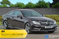 USED 2012 12 MERCEDES-BENZ C-CLASS 1.8 C180 BLUEEFFICIENCY AMG SPORT 7G Tronic  FULL Mercedes Benz MAIN DEALER SERVICE HISTORY