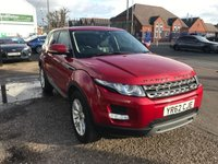 2012 LAND ROVER RANGE ROVER EVOQUE 2.2 SD4 PURE TECH 5d 190 BHP £13499.00