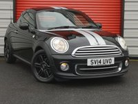USED 2014 14 MINI COUPE 1.6 COOPER 2d 120 BHP