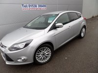 USED 2012 62 FORD FOCUS 1.6 ZETEC TDCI 5d 113 BHP CHEAP TAX, GREAT MPG, FSH