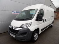 USED 2014 64 CITROEN RELAY 2.2 35 L3H2 HDI 1d 129 BHP 63000 MILES PLUS VAT
