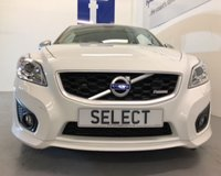 USED 2010 10 VOLVO C30 D2 R-DESIGN WAS £5999 * NOW £5499 SAVING £500 Summer black tag SALE  !!! Immac in brilliant white with graphite grey alloy wheels-superb spec -call for more details
