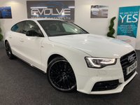 2015 AUDI A5 2.0 SPORTBACK TDI BLACK EDITION PLUS 5d AUTO 175 BHP £17990.00