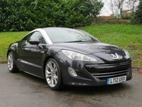 USED 2012 12 PEUGEOT RCZ 1.6 THP GT 2d 156 BHP LESS THAN £35 A WEEK!
